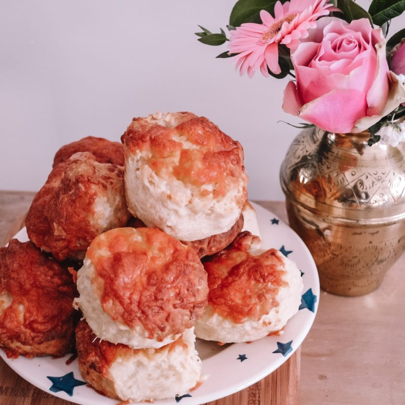 Light and Fluffy Cheese Scones