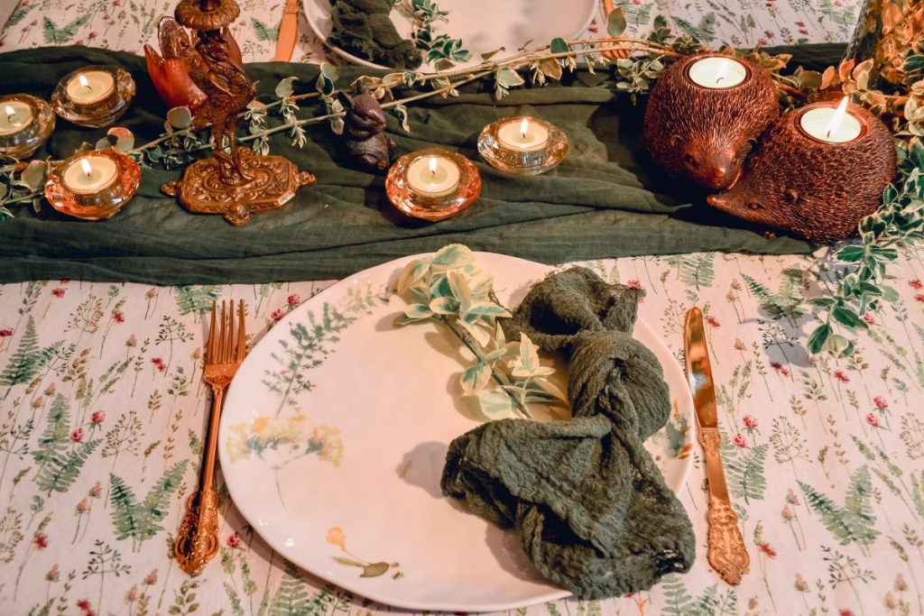 Easter styled table