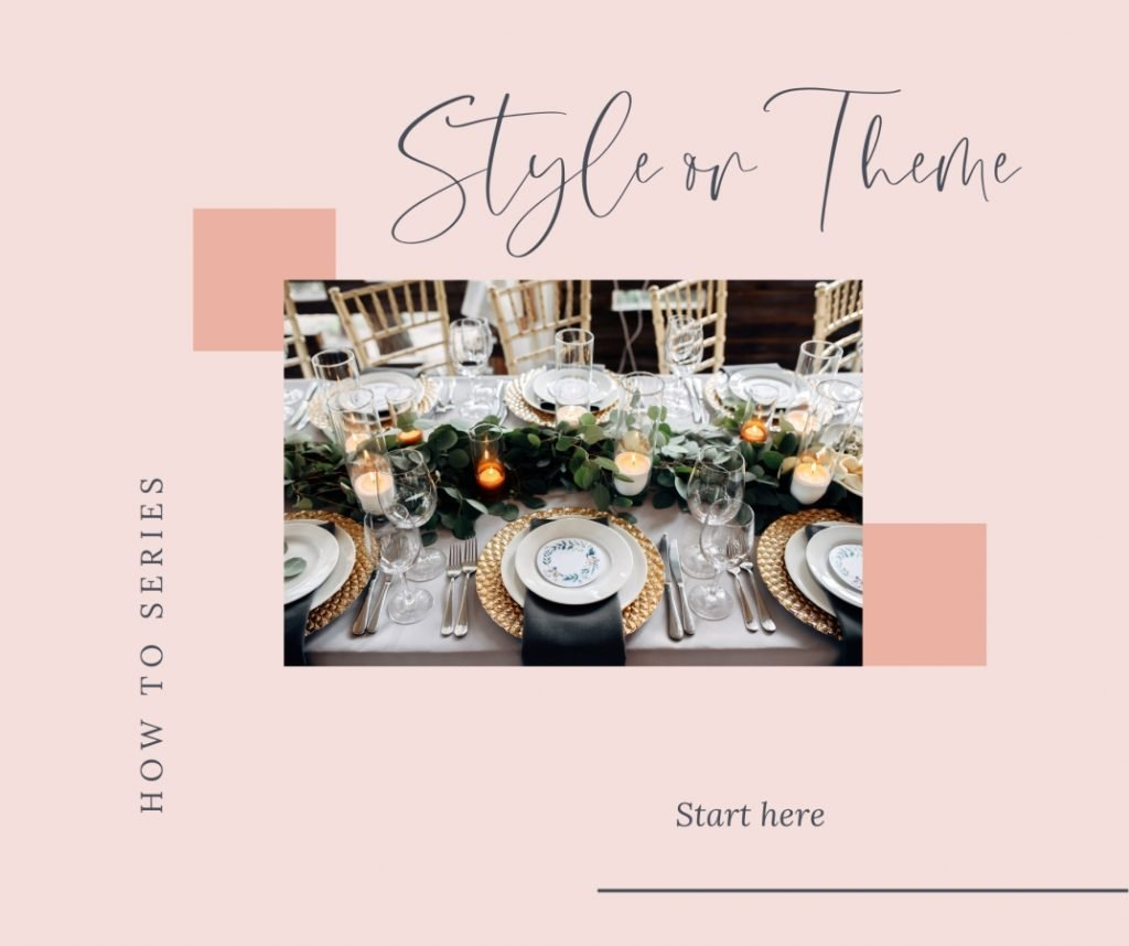 How to pick a style or theme